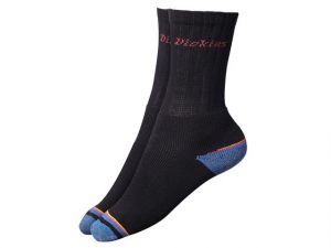 Strong Work Socks  Black (Pack 3)