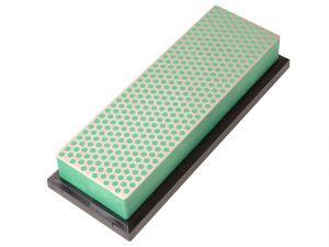 Diamond Whetstone 150mm Plastic Case Green 1200 Grit Extra Fine
