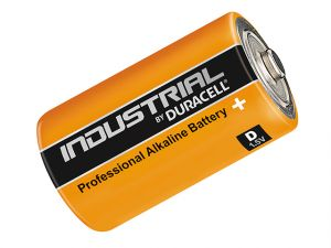 D Cell Professional Industrial Batteries Pack of 10