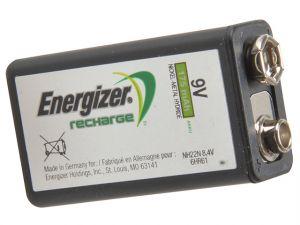 9 Volt Rechargeable Power Plus Battery R9V 175 mAh Single
