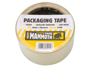 Retail/Labelled Packaging Tape Clear 48mm x 50m