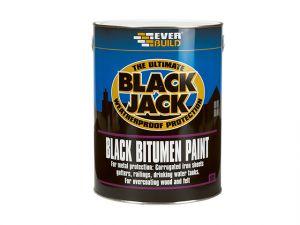 Black Jack Bitumen Paint 5 Litre