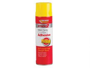 Stick 2 Spray Contact Adhesive 500ml