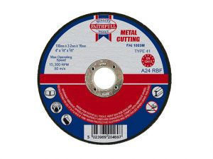 Metal Cut Off Disc 100 x 3.2 x 16mm