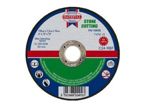 Stone Cut Off Disc 100 x 3.2 x 16mm