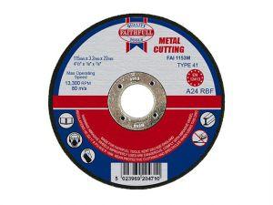 Metal Cut Off Disc 115 x 3.2 x 22mm