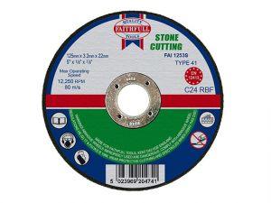 Stone Cut Off Disc 125 x 3.2 x 22mm