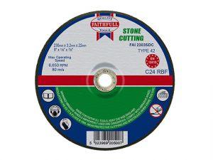 Depressed Centre Stone Cut Off Disc 230 x 3.2 x 22mm