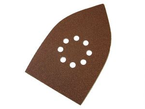 Multi Sander Sheets Hook & Loop Medium Grit (Pack of 5)