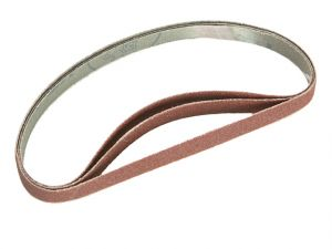 Cloth Sanding File Belt 455mm x 13mm Assorted (Pack of 5)