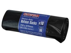 Heavy-DutyBlackRefuseSacks(10)