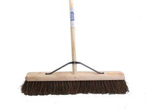 Broom Stiff Bassine 60cm (24in) + Handle & Stay