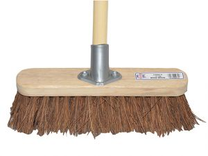 Broom Bassine 30cm (12in) Head with 48in Handle