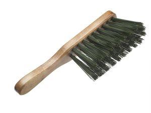 Stiff Green PVC Hand Brush 275mm (11in)