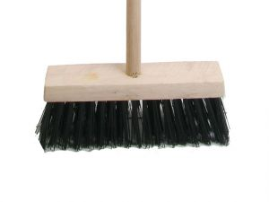 Broom PVC 325mm (13 in) Head complete with Handle
