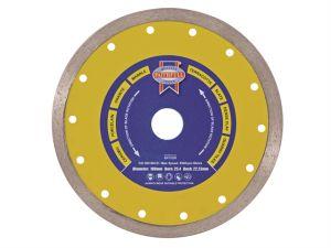 Diamond Tile Blade Continuous Rim 105 x 16mm