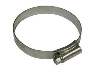 3X Hose Clip - Zinc MSZP 60 - 80mm