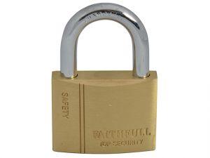 Brass Padlock 50mm 3 Keys