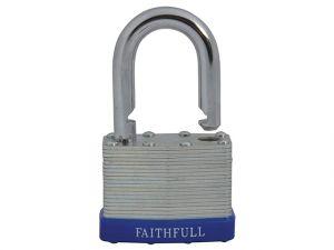 Laminated Steel Padlock 50mm 3 Keys