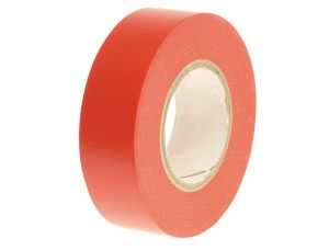PVC Electrical Tape Red 19mm x 20m