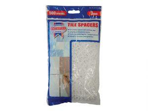 Tile Spacer Long Leg 3mm Bag of 500