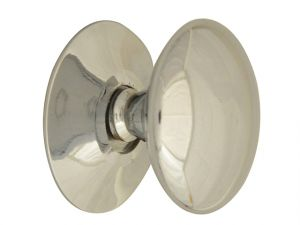 Cupboard Knobs - Victorian Chrome Finish 30mm Pack of 5