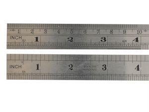 F112ME Steel Rule 300mm / 12in
