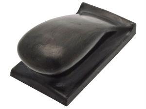 Hand Sanding Block Hard Black PUR GRIP® 70 x 125mm