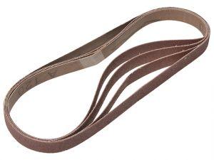 Powerfile Sanding Belt 454mm x 13mm Fine 120g (Pack of 4)