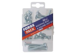 Roofing Bolt Kit Forge Pack 48 Piece