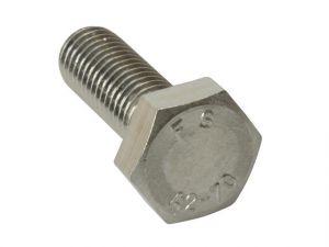 High Tensile Set Screw ZP M8 x 80mm Bag 10