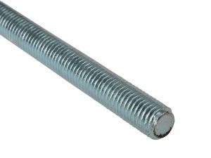 Threaded Rod Zinc Plated M8 x 1m Single