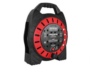 Semi Enclosed Cable Reel 240V 20M 13A 4G