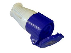 Blue Socket 16 Amp 240 Volt