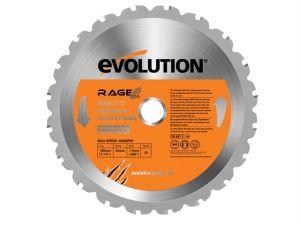 RAGE® Multipurpose Circular Saw Blade 185 x 1.7 x 20mm Bore 20 x 20T