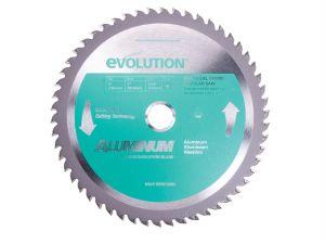 Evolution Aluminium Cutting Circular Saw Blade 230 x 2.4 x 25.4mm x 80T