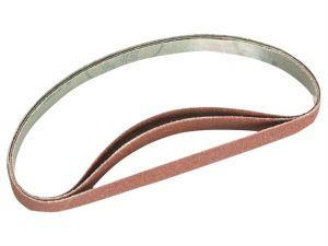 File Sander Belts 80 Grit (Pack of 3)