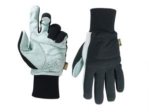 Hybrid-260 Suede Palm Knit Wrist Glove - Medium (Size 9)