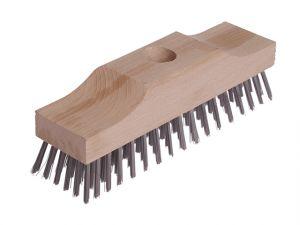 Broom Head Raised Wooden Stock 6 Row 220mm x 60mm