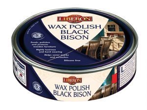 Wax Polish Black Bison Clear 150ml