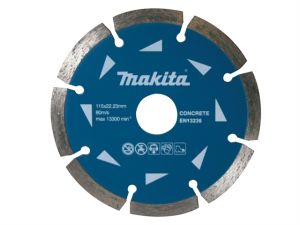 D-41589 Segmented Diamond Blade 115 x 22.23mm Pack of 10