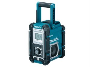 DMR106 Blue Job Site Radio With Bluetooth 240 Volt & Battery Powered Bare Unit