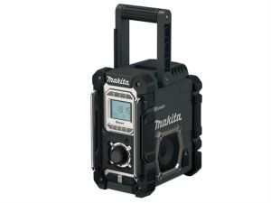 DMR106B Black Job Site Radio with Bluetooth 240V & Battery Powered Bare Unit