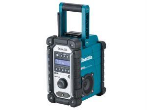 DMR109 Job Site DAB Radio Blue 240 Volt & Li-Ion Bare Unit