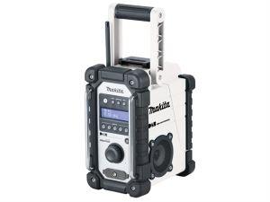 DMR109W Job Site DAB Radio White 240V & Li-Ion Bare Unit
