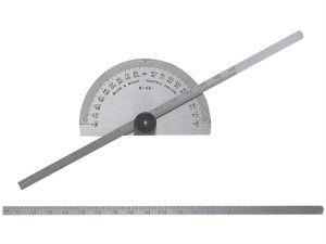 Protractor Type Depth Gauge Metric/Imperial