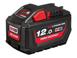 M18 HB12 HIGH OUTPUT™ Slide Battery Pack 18V 12.0Ah Li-ion