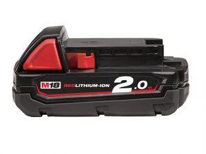 M18 B2 REDLITHIUM-ION™ Slide Battery Pack 18V 2.0Ah Li-Ion