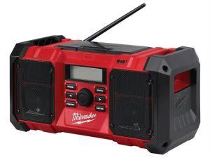 M18 JSRDAB-0 DAB Digital Jobsite Radio 18V Bare Unit