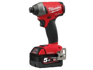 M18 ONEID-502X Fuel™ ONE-KEY™ 1/4in Hex Impact Driver 18V 2 x 5.0Ah Li-Ion